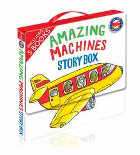Amazing Machines Story Box: 5 Paperbacks in a Carry Case by Tony Mitton
