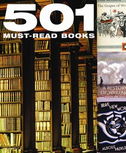 Book 501 Must Read Books by LITTLEHAMPTON BOOK SERVICES