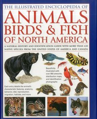 Animals, Birds & Fish of North America, the Illustrated Encyclopedia of: A Natural History and…