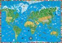 Illustrated World Map For Kids