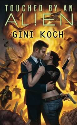 Book Touched By An Alien: Alien Novels, Book One by Gini Koch