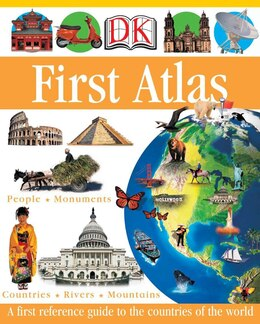 Book DK First Atlas by Anita Ganeri
