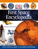 Book First Space Encyclopedia by Dorling Dk