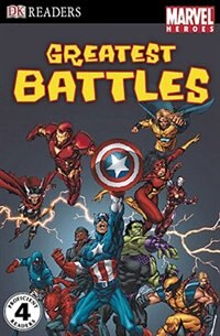 Book Dk Readers L4: Marvel Heroes: Greatest Battles by Matthew K. Manning
