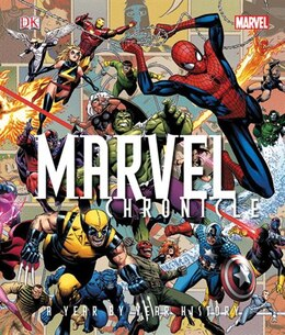 Book Marvel Chronicle by Tom Defalco