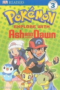 Book Dk Readers Pokemon Explore With Ash Level 3 Paperback by Dorling Kindersley
