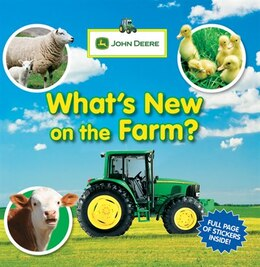 Book John Deere: What's New On The Farm? by Dorling Parachute Press