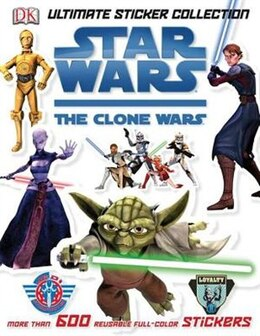 Book Ultimate Sticker Collection: Star Wars: The Clone Wars by Dorling Dk Publishing