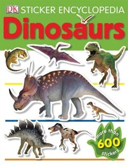 Book Sticker Encyclopedia: Dinosaurs by Dorling Dk