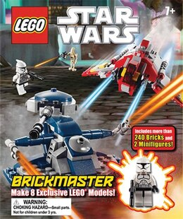 Book Lego Star Wars Brickmaster by Dorling Dk Publishing