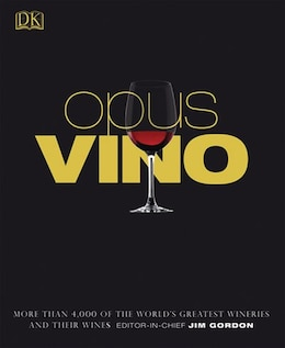 Book Opus Vino by Kindersley Dorling