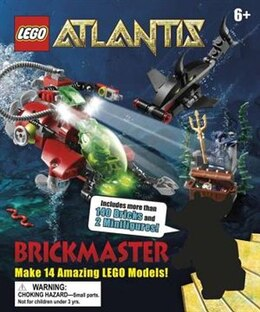 Book Lego Atlantis Brickmaster by Dorling Dk Publishing