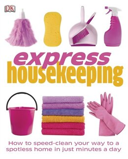 Book Express Housekeeping by Dorling Dk