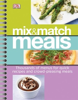 Book Mix And Match Meals by Dorling Dk
