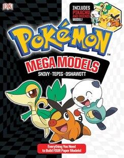 Pokemon Mega Models: Build Snivy, Oshawatt And Tepig