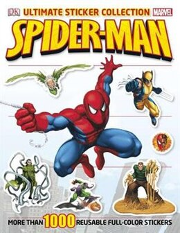Book Ultimate Sticker Collection: Spider-man by Julia March