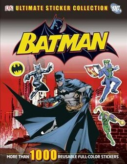 Book Ultimate Sticker Collection: Batman by Dorling Dk Publishing