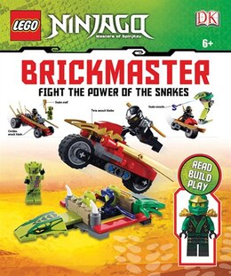 Book Lego Ninjago: Fight The Power Of The Snakes Brickmaster by Dorling Dk Publishing