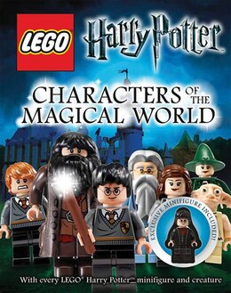 Book Lego Harry Potter Characters Of The Magical World by Lego