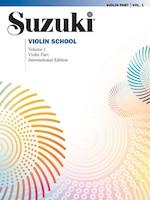 Suzuki Violin School, Vol 1: Violin Part
