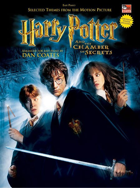 Selected Themes From The Motion Picture Harry Potter And The Chamber Of Secrets: Book And Poster by John Williams