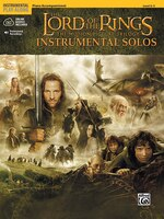 The Lord Of The Rings Instrumental Solos: Piano Acc., Book And Cd