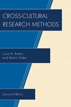 Cross-Cultural Research Methods