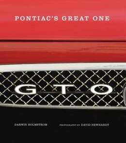 Book GTO: Pontiac's Great One by Darwin Holmstrom
