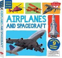 Airplanes And Spacecraft: Includes 9 Chunky Books