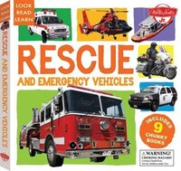 Rescue And Emergency Vehicles: Includes 9 Chunky Books