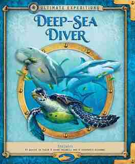 Ultimate Expeditions Deep-sea Diver: Includes 63 Pieces To Build 8 Ocean Animals, And A Removable Diorama! by Phyllis Perry