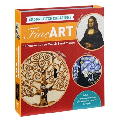 Cross Stitch Creations: Fine Art: 12 Patterns From The World's Finest Masterpieces by John Lohman