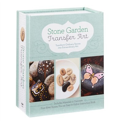 Stone Garden Transfer Art: Transform Ordinary Stones Into Extraordinary Art by Jean Robin