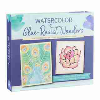 Watercolor Glue-resist Wonders: Create Irresistible Art Using Glue And Watercolors by Lydia becker&mayer!