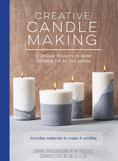 Creative Candle Making: 12 Unique Projects To Make Candles For All Occasions - Includes Materials To Make 4 Candles by Meredith Mennitt