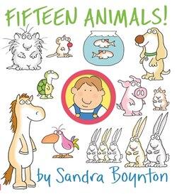Book Fifteen Animals!: A Boynton On Board Book by Sandra Boynton