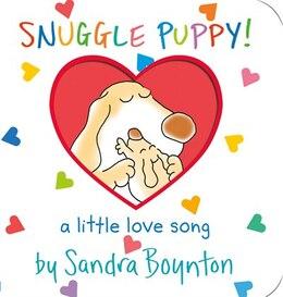 Book Snuggle Puppy: a little love song by Sandra Boynton