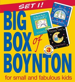 Book Big Box of Boynton Set 1!: Barnyard Dance! Pajama Time! Oh My Oh My Oh Dinosaurs! by Sandra Boynton