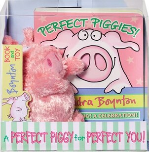 Perfect Piggies! Book and Plush Set: Book and Plush Set