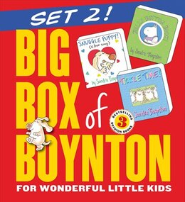 Book Big Box of Boynton Set 2!: Snuggle Puppy! Belly Button Book! Tickle Time! by Sandra Boynton