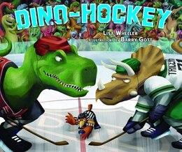 Book Dino-Hockey by Lisa Wheeler