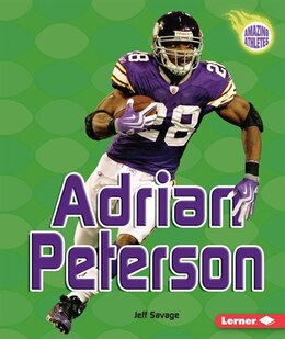 Book Adrian Peterson by Jeff Savage