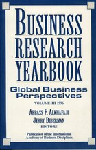 Business Research Yearbook,: Global Business Perspectives