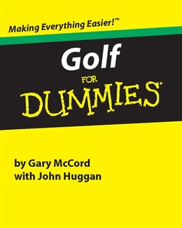 Book Golf for Dummies by Gary McCord