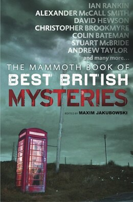 Book The Mammoth Book of Best British Mysteries 8 by Maxim Jakubowski