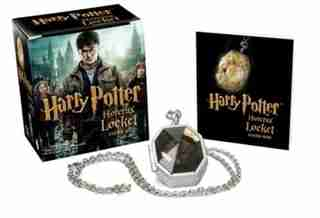 Harry Potter Horcrux Locket And Sticker Book de Running Press