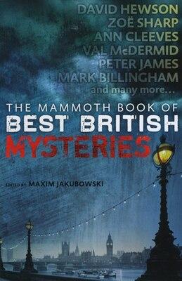 Book The Mammoth Book of Best British Mysteries 9 by Maxim Jakubowski