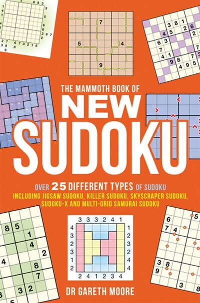 The Mammoth Book of New Sudoku de Gareth Moore