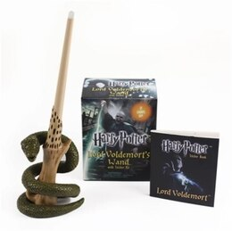Book Harry Potter Voldemort's Wand with Sticker Kit: Lights Up! by Running Press