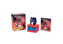 Book Transformers: Light-Up Optimus Prime Bust and Illustrated Book: With Sound! by Running Press